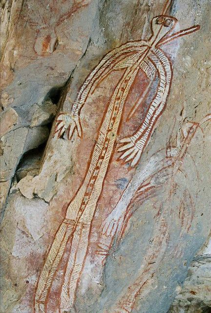 warradjan-aboriginal-cultural-centre_rock-art-kakadu-national-park-northern-_territory-australia_pinterest