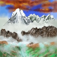46_Multicolored mountains