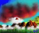 56_Garnet sky