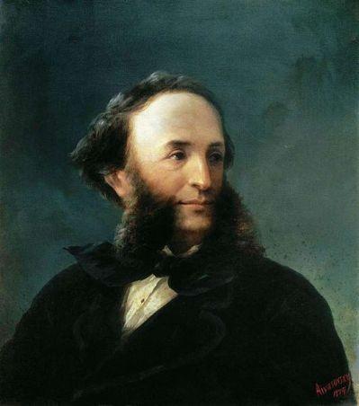 529px-Aivazovsky_-_Self-portrait_1874