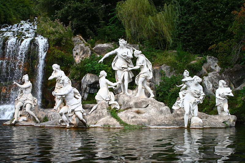 Caserta_Palace_Diana_Sculpture