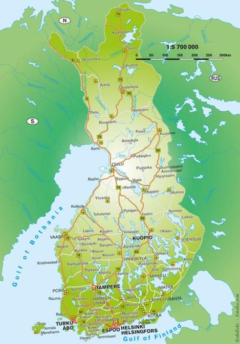 finnlandkarte