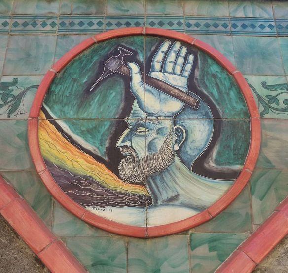 Murales_ceramico_-_Il_muro_dei_tondi