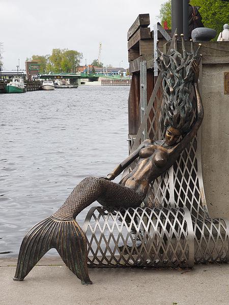 Klaipéda_Skulptur_Meerjungfrau