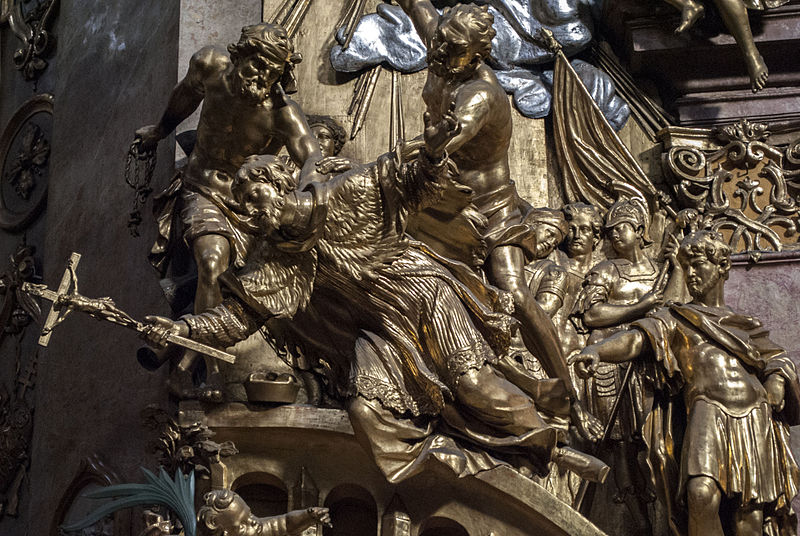 800px-Sculptures_in_St._Peter's_Church,_Vienna