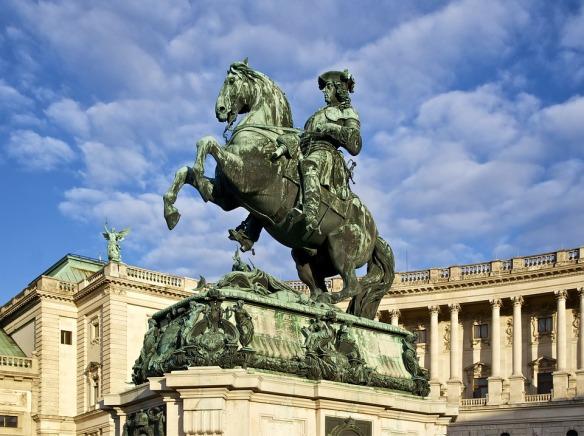 Monument Austria Statue Sculpture Vienna