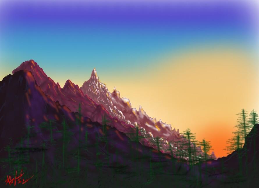 Sunny Mountains