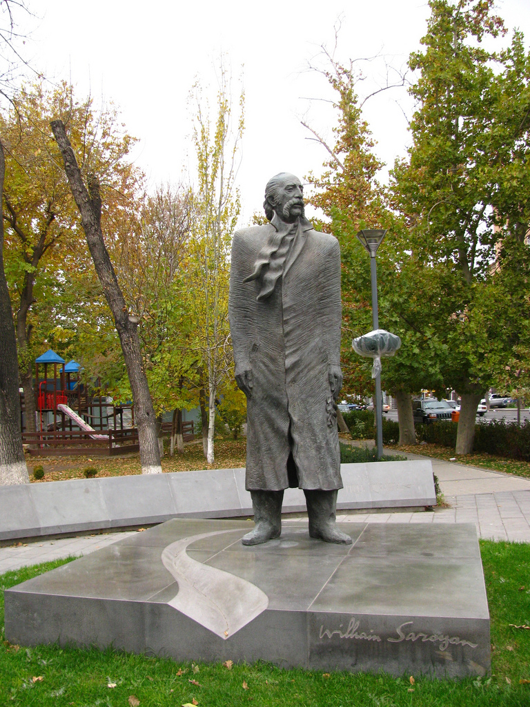 William_Saroyan_in_Yerevan