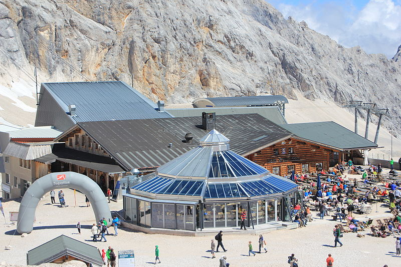 Sonnalpin_Restaurant_on_Zugspitze