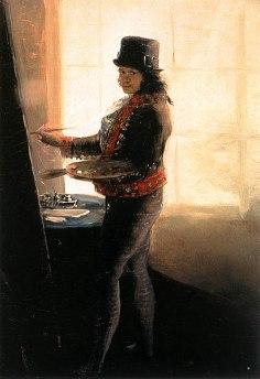 411px-Autorretrato_en_el_taller,_Francisco_de_Goya