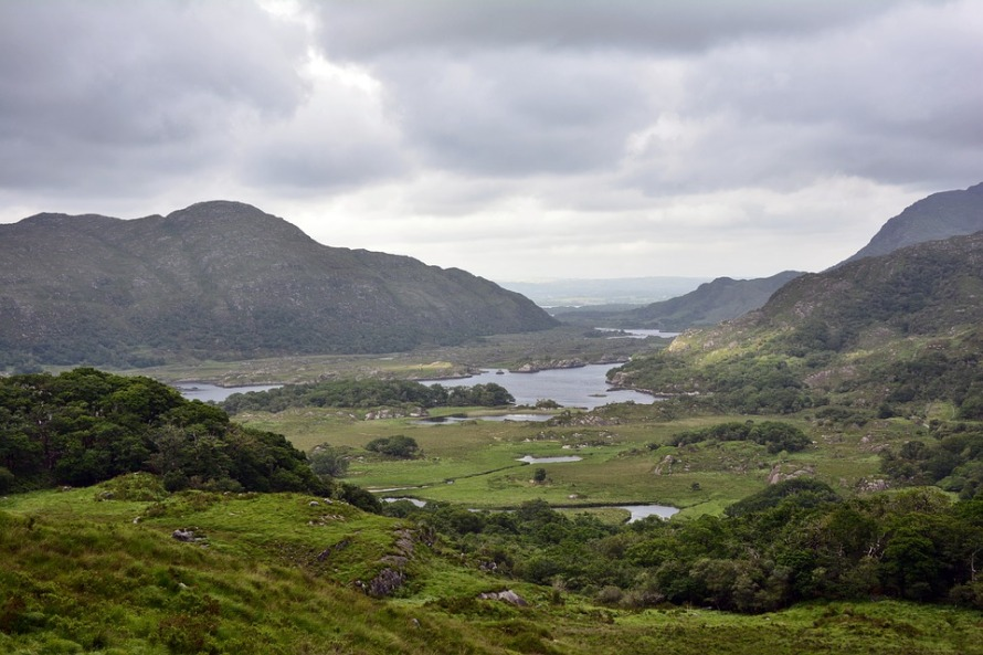 National Park Nature Ireland Killarney Landscape