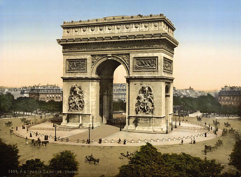 800px-Arc_de_Triomphe_de_l'Etoile,_Paris,_France,_ca._1890-1900
