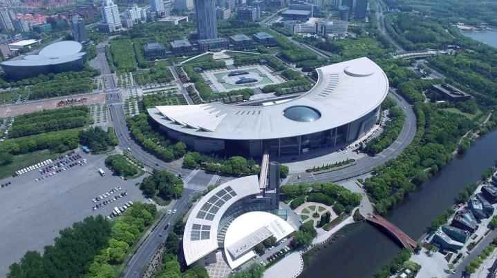 China Shanghai Lu Jia Zui