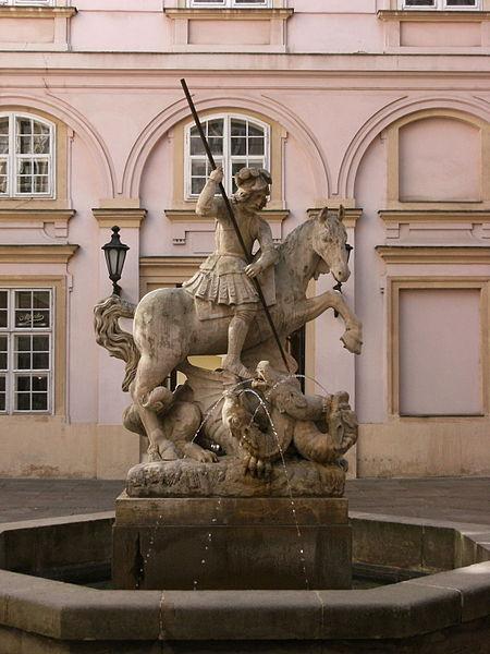 450px-Statue_of_St._George_Bratislava