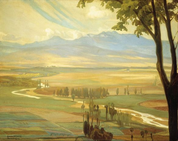 757px-Diego_Rivera_-_Avila_Morning_(The_Ambles_Valley)_-_Google_Art_Project