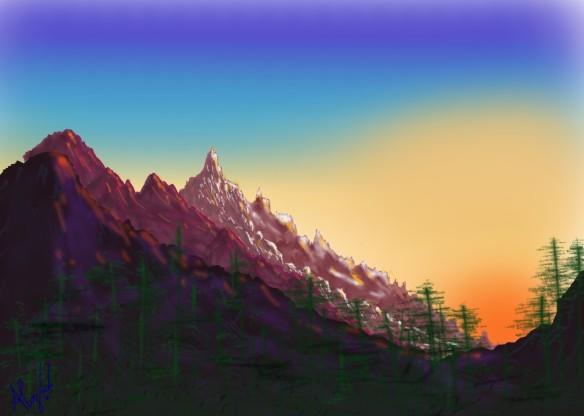 Montagnes ensoleillées_106_e