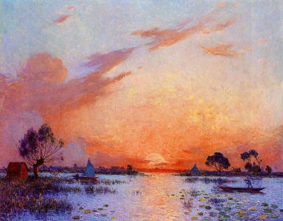 Puigaudeau,_Ferdinand_du_-_Sunset_in_Briere_II
