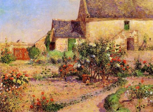 Puigaudeau,_Ferdinand_du_-_The_Garden_at_Kervaudu