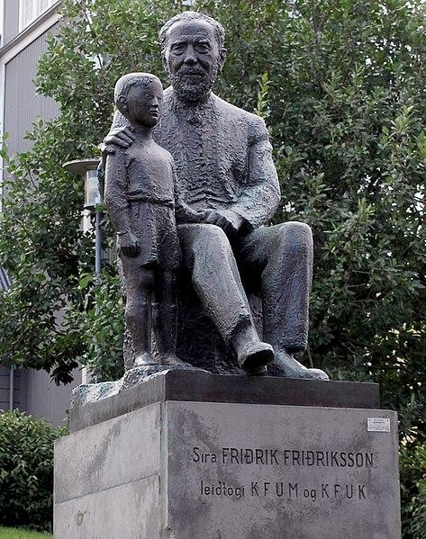 473px-Fridrik_Fridriksson_Laekjargata