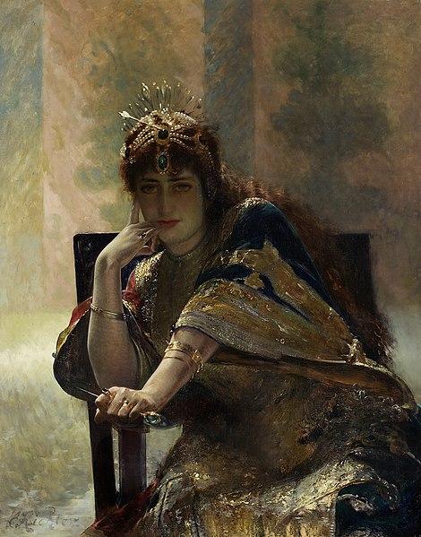 470px-Edouard_Frédéric_Wilhelm_Richter_-_Orientalin_-_6570_-_Kunsthistorisches_Museum