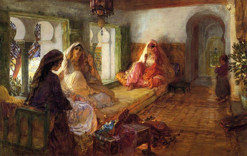 Frederick_Arthur_Bridgman,_1904_-_The_Harem
