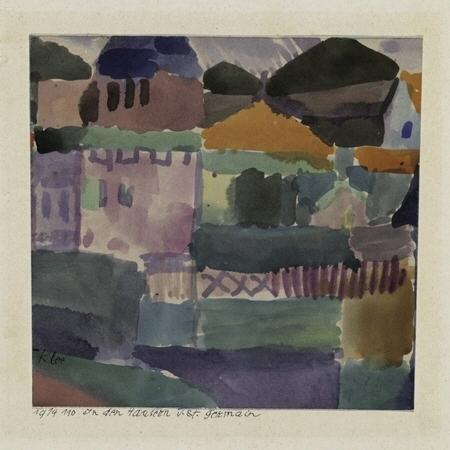 Paul_Klee,_In_den_Häusern_von_St._Germain