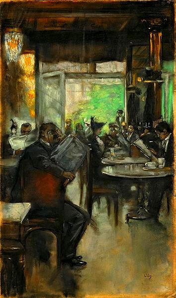 354px-Lesser_Ury_Im_Café_c1913