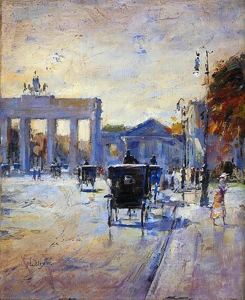 Lesser_Ury_Pariser_Platz_um_1930
