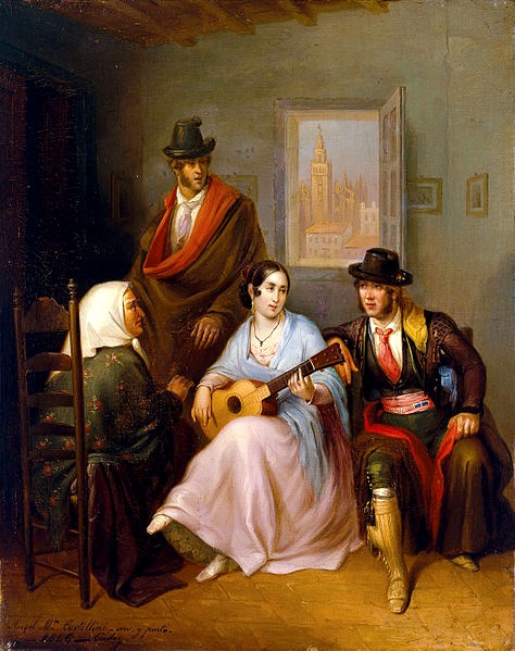 474px-Angel_Maria_Cortellini_The_Young_Girl_Andalusian_Folk_Song