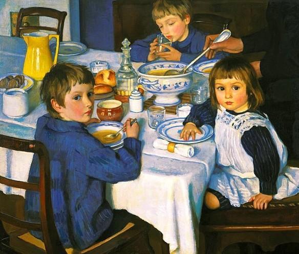 706px-Zinaida_Serebryakova_(1914)_At_Breakfast