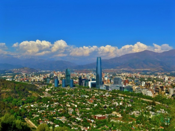 santiago-with-mountains-in-the-background-chile