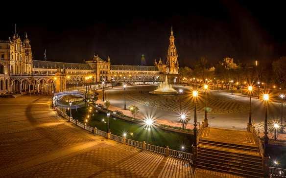 seville-spain-plaza-de-espana-wallpaper-preview